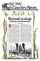 Beyond ecology: Restoring a cultural landscape