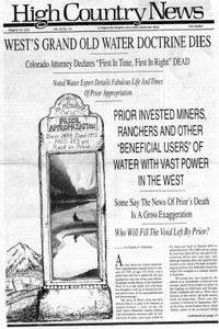 West's grand old water doctrine dies