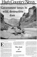 Government tames its wild, destructive dam