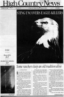 Sting uncovers eagle-killers