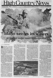 Idaho savors its waters as region seeks more hydropower