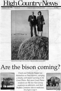 Are the bison coming?