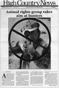 Animal rights group takes aim at hunters