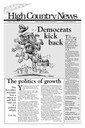 Democrats kick back: The politics of growth