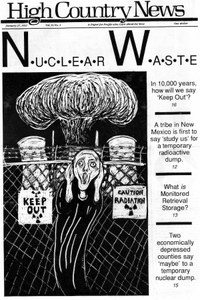 Nuclear Waste: In 10,000 years, how will we say 'Keep Out'?