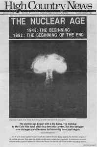 The nuclear age: 1945, the beginning; 1992, the beginning of the end