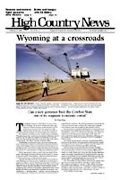 Wyoming at a crossroads