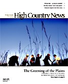 The Greening of the Plains