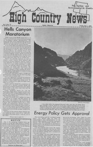 Hells Canyon moratorium