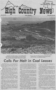 Calls for halt in coal leases
