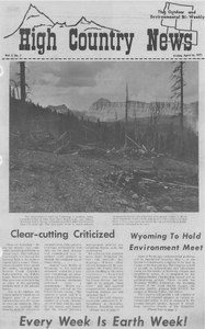 Clear-cutting criticized