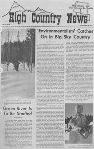 'Environmentalism' catches on in Big Sky Country