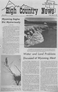 Wyoming eagles die mysteriously