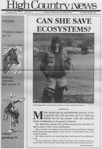 Can she save ecosystems?