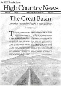 The Great Basin: America's wasteland seeks a new identity