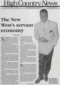 The New West's servant economy