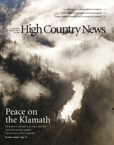 Peace on the Klamath
