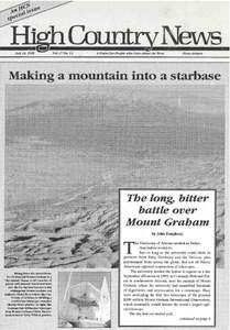 Making a mountain into a starbase
