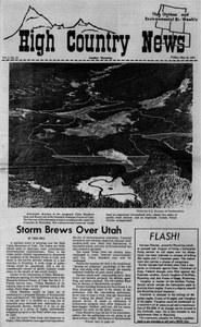 Storm brews over Utah