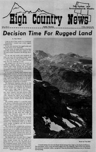 Decision time for rugged land