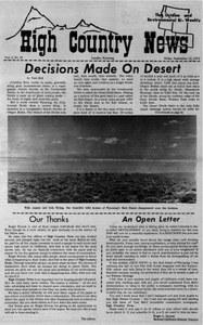 Decisions made on desert