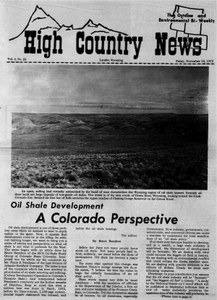 Oil shale development: A Colorado perspective