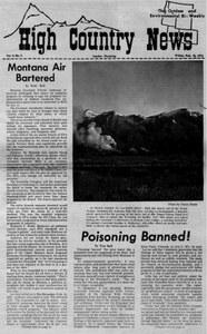 Montana air bartered