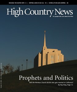 Prophets and politics