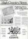 Fighting fires, and indignities
