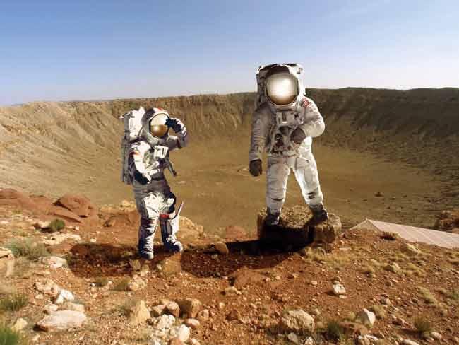 an essay on if i were an astronaut on mars If i were an astronaut puts children into the shoes (or rather, helmet) of an astronaut and will be one of the first looks into the space program for many children.