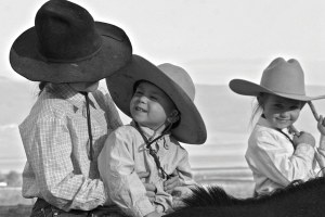 Raising cows -- and kids -- in the West