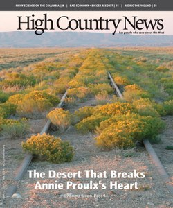 The Desert That Breaks Annie Proulx'
