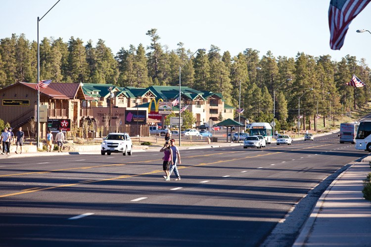 The Tusayan strip could get a lot more crowded -- and include a new outlet mall