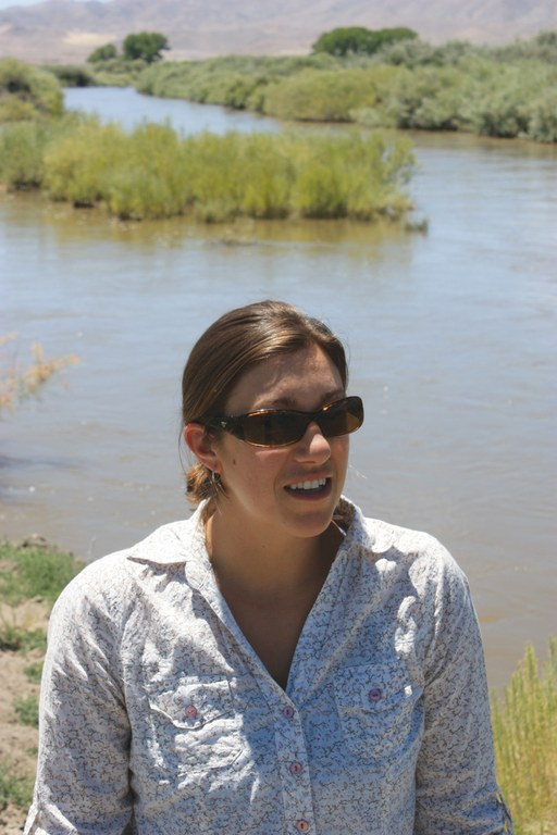 Joy Giffin, with the National Fish and Wildlife Foundation,  is working toward buying water rights  for Walker Lake without d