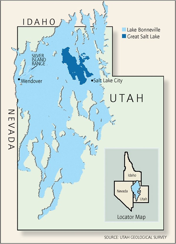 Lake Bonneville High Country News - Where is idaho
