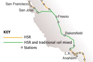 California's high-speed rail is slow to gain speed