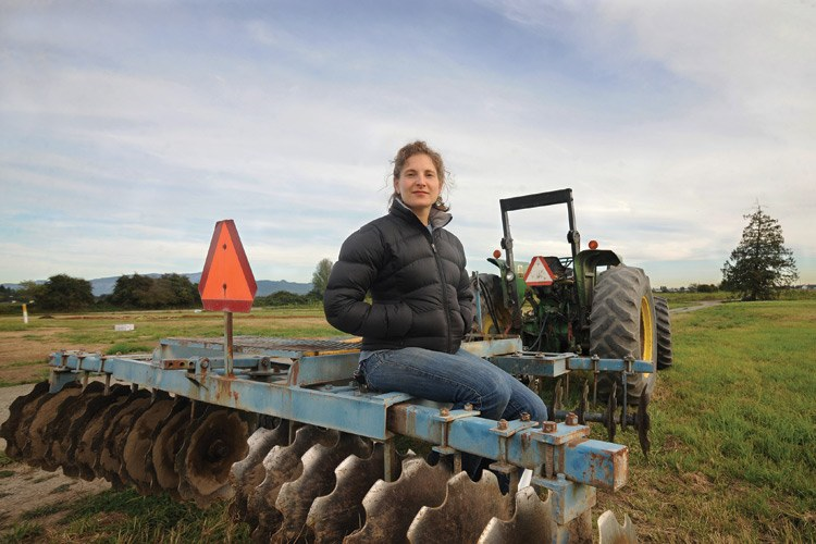 Viva Farms Director Sarita Schaffer is also the regional director of Washington State University's Latino farming program. She and others from WSU applied for grants and con