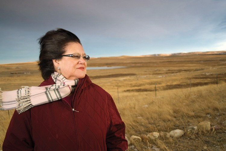 Elouise Cobell died on Oct. 22, 2011.