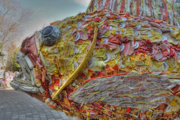 Oregon Sculptor Turns Beach Trash Into Meaningful Art