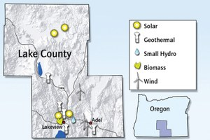 Lakeview renewable projects proposed and in progress