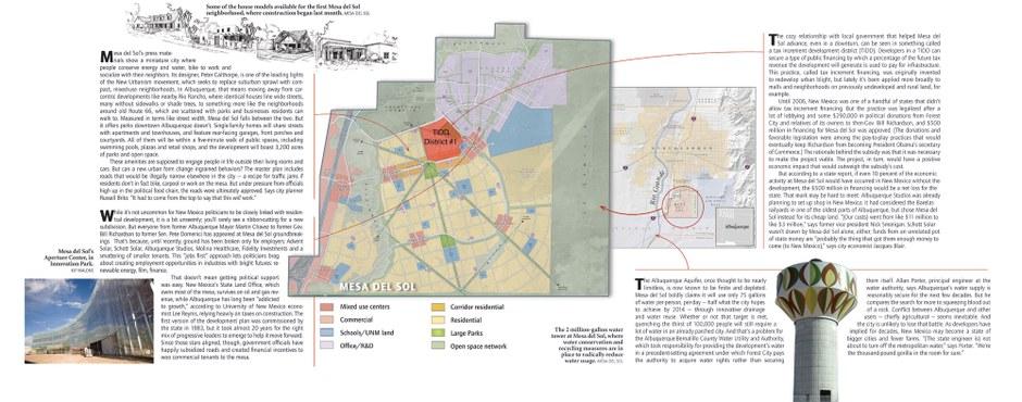 Green 'New Urbanist' development rises in Albuquerque suburbs
