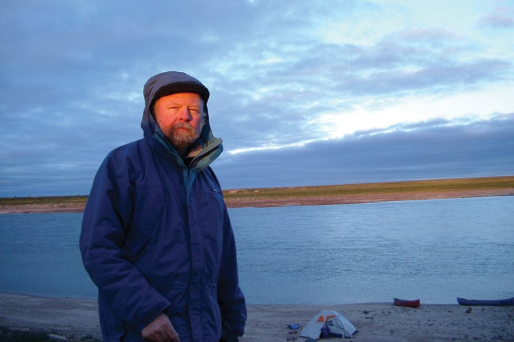 Dave Foreman, now with The Rewilding Institute in Albuquerque, works for continental conservation in places like Thelon River in Canada's Northwest Territory.