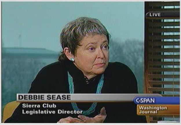 Debbie Sease talks about the Arctic National Wildlife Refuge in 2005 on C-SPAN's Washington Journal program.