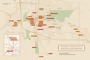 A Gem City Atlas: Novel maps of Laramie, Wyoming