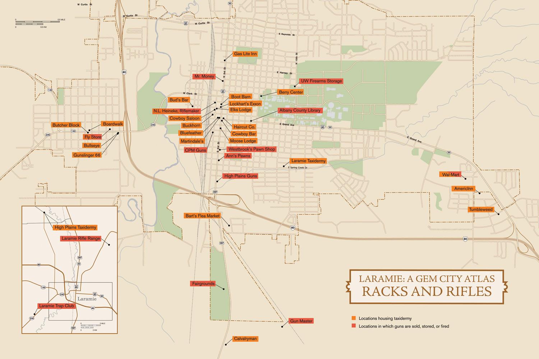 A Gem City Atlas: Novel maps of Laramie, Wyoming — High ... Laramie Us Map on laramie wyoming elevation map, laramie mountains wyoming, casper wyoming map, laramie county wyoming road map, city of laramie wyoming map, fort laramie wyoming map,