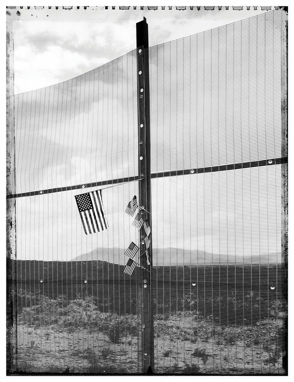 Minuteman Border Wall, Naco, Tucson sector, Arizona, 2007.