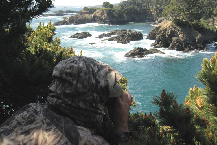 On the hunt for abalone poachers in northern california for California fishing game