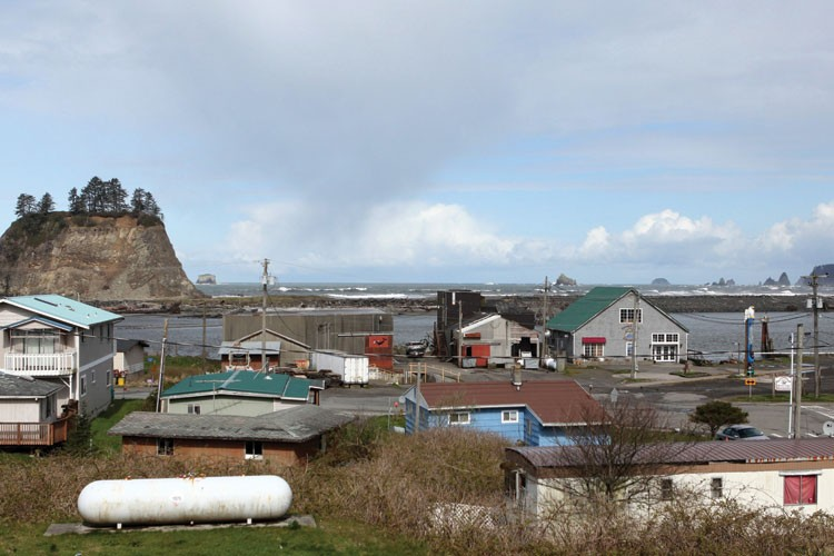 The tiny reservation town of La Push, Washington, has been thrust into the spotlight as the fictional home of werewolves battling vampires in the Twilight books and movies.