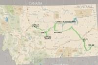 Neil LaRubbio's Montana route