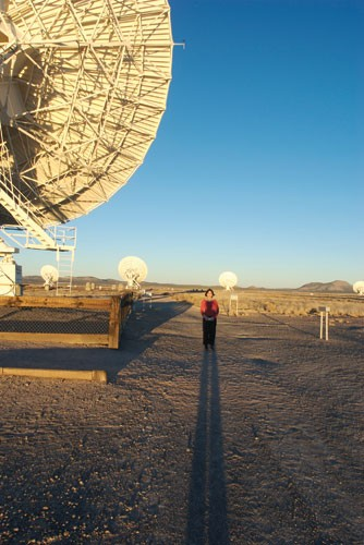 The Very Large Array on the Plains of San Agustin, New Mexico, where scientists keep an eye on galaxies far away.